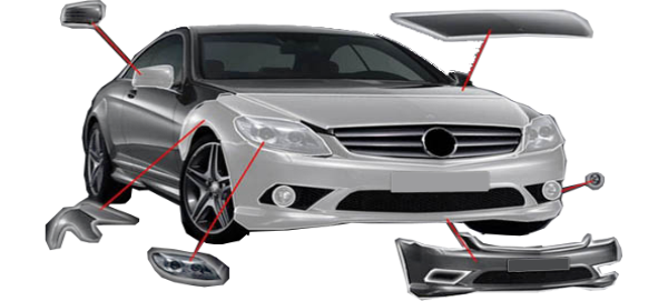 Элементы зашиты кузова автомобиля
